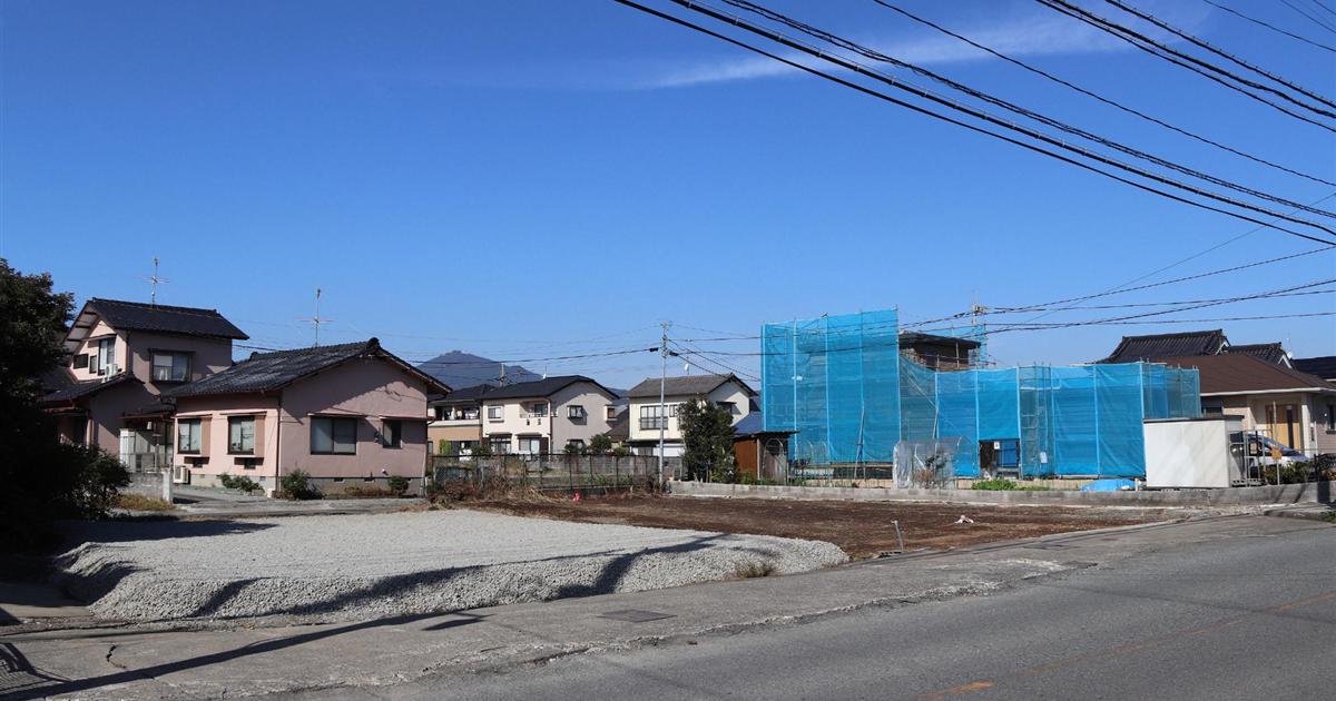 熊本市南区近見 液状化